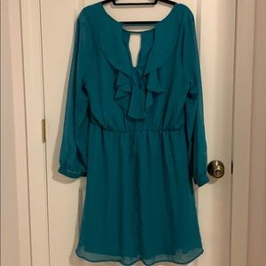 Trixxi Dresses - Trixxi Teal Dress